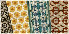 Vinyl floor cloths