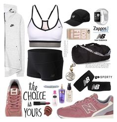 """""""Run the World in New Balance"""" by nomikatz ❤ liked on Polyvore featuring New Balance Classics, Olivine, NIKE, Under Armour, New Balance, Casetify, Victoria's Secret, BERRICLE, NARS Cosmetics and NewBalance"""