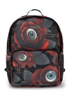 Pinterest: @MagicAndCats ☾ Killstar C U In Paradise Backpack, £39.99