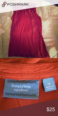 Simply Vera Blouse Dark Red / Never worn / Size: M Vera Wang Tops Blouses