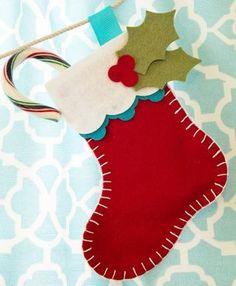 MFT Creative Challenge Stocking Banner 2 - OHS felt fabric - christmas stockings jul jule sokker strømper Weihnachten Felt Christmas Decorations, Felt Christmas Ornaments, Christmas Fun, Christmas Projects, Felt Crafts, Holiday Crafts, Fabric Crafts, Christmas Sewing, Handmade Christmas