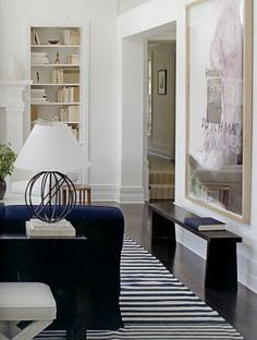 different angle on an iconic room, Victoria Hagan