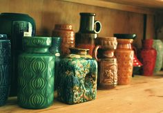 West German Pottery Collection by super ninon, via Flickr