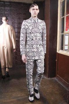 Alexander McQueen Fall Winter Menswear 2013 London