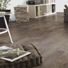 PVC Boden Tarkett Exclusive 260 Metal Oak Brown 3m Bild 1