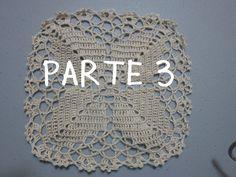 PARTE 3 DE 4: CUADRO <u>ирина тимофеева вязание крючком от и до</u> O PASTILLA PARA MANTEL A CROCHET
