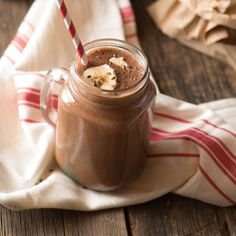 Almond Cocoa Smoothie with Cinnamon Recipe | Frontier Co-op
