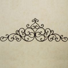 A swirling scroll design decorates the Aberdeen Antique Gold Indoor/Outdoor Wall Grille. Handcrafted of wrought iron, this wall grille has a handpainted. Iron Wall Art, Metal Tree Wall Art, Gold Wall Decor, Metal Wall Decor, Wrought Iron Wall Decor, Iron Furniture, Mediterranean Home Decor, Tuscan Decorating, Outdoor Walls