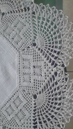 Lace Edge Croceheted Cotton Trim,Crochet Lace Trim,Home Decor,Crochet Edge Filet Crochet, Crochet Lace Edging, Crochet Motifs, Crochet Borders, Crochet Cross, Crochet Stitches Patterns, Crochet Round, Doily Patterns, Crochet Home