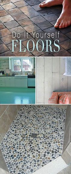 Wood look tile combines the natural warmth of wood with the do it yourself floors great ideas projects and tutorials solutioingenieria Images