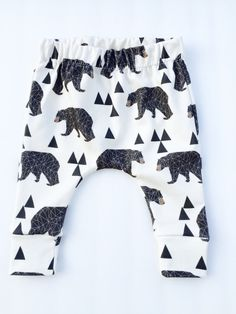 Organic baby clothes, baby boy clothes, harem pants,organic leggings, cotton pants, toddler pants,bear leggings, toddler clothes, by Kutikati on Etsy https://www.etsy.com/listing/259225636/organic-baby-clothes-baby-boy-clothes