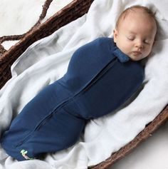 "The ""Woombie"" is a safe and natural way to swaddle your baby."
