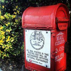 Lovely old mailbox in Kangaroo Valley