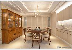 吉美君品_古典風設計個案—100裝潢網 Design Case, Dining Room Design, Furniture, Home Decor, Style, Swag, Decoration Home, Room Decor, Home Furnishings