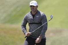 It's not often that the US Open has such an unheralded defending champion. But Brooks Koepka has strolled into Shinnecock Hills this week pretty well under. Brooks Koepka, Champs, Riding Helmets, Golf, Detail, Wave, Polo Neck