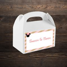 """"""" The perfect theme for any little girl who loves her some Minnie Mouse! Minnie Mouse Party, Mouse Parties, Cupcake Wrappers, Party In A Box, Party Printables, Label, Invitations, Save The Date Invitations, Shower Invitation"""