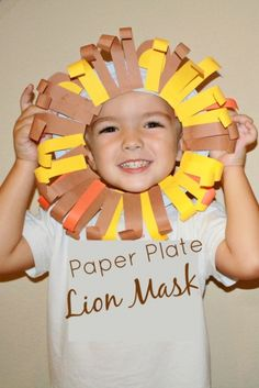 Lion mask.  Great for Leo the Late Bloomer or The Mouse and The Lion books!