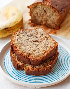M's super moist and squishy banana bread whilst playing games! Vegetarian Recipes, Cooking Recipes, Healthy Recipes, Healthy Food, Vegan Junk Food, Vegan Sushi, Vegan Baby, Vegan Smoothies, Vegan Kitchen