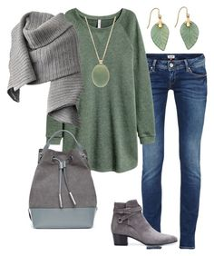"""""""saturday afternoon"""" by sabine1980 on Polyvore featuring Yves Saint Laurent, Forever 21, Acne Studios and Opening Ceremony"""