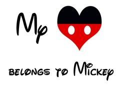Kory & Robyn -- I thought you would like this one.....My heart belongs to Mickey
