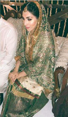 Hassanツ😍😘 Pakistani Wedding Outfits, Pakistani Bridal Dresses, Pakistani Wedding Dresses, Bridal Outfits, Indian Dresses, Indian Outfits, Nikkah Dress, Shadi Dresses, Ethnic Outfits