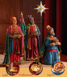 Three Kings following the star