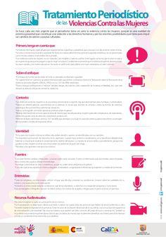 Infografía: Tratamiento periodístico de las violencias contra las Mujeres