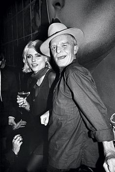 — Debbie Harry & Truman Capote, Studio 54