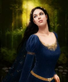 Luthien, daughter of Elwe Singollo (Thingol) and Melian the Maia.
