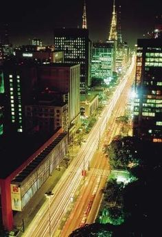 Sao Paulo. Unforgettable.// Ave Paulista. One of my favorite places