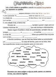 Pin De Cleide Andrely Em Portugues Atividades Substantivos