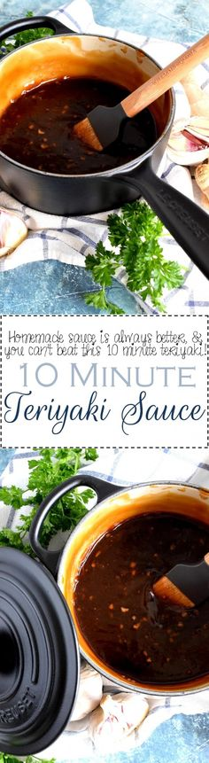 10 Minute Teriyaki Sauce - Lord Byron's Kitchen
