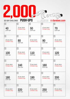 C E A F Fd Eb F Exercise Challenges Fitness Challenges on Free Weight Exercise Chart Printable
