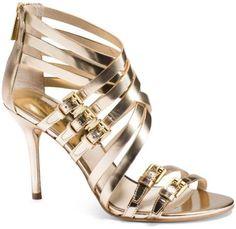 Michael Kors Ava Leather Sandal