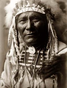 Here for your consideration is an imposing picture of Ghost Bear. He is a Crow Warrior. The picture was taken in Montana and shows the Indian in Full War Bonnet. It was created in 1908 by Edward S. Curtis.    Indians of North America.    We have created this collection of illustrations primarily to serve as a valuable educational tool. Contact curator@old-picture.com.    Image ID# F8FE259D
