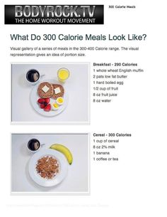 300 calorie meal 5