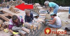 Dom postavený z drevený polien, ktoré by ste možno inak použili na vykurovanie svojho domu. Tento dom je ekologický a napriek tomu veľmi moderný. Počas roka si dokáže udržiavať optimálnu teplotu a preto je v ňom v lete príjemne aj bez klimatizácie a v zime naopak teplo aj bez podlahového vykurovania. Môžu za to prírodné... Picnic Blanket, Outdoor Blanket, Firewood, Crafts, House, Crafting, Diy Crafts, Craft, Arts And Crafts