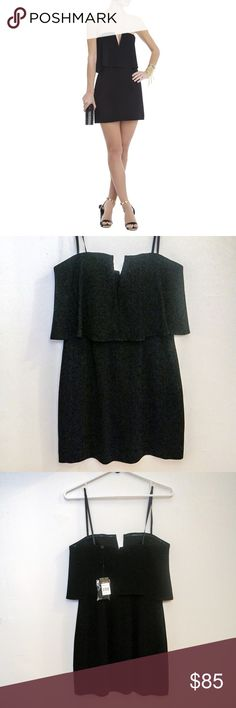 🚨STEAL🚨 New BCBG Kate Dress in Black Gorgeous little black dress. In great condition--new with tags as I initially bought the wrong size. I have this dress in my correct size and I wear it all the time! Very flattering and sexy🙈❤️ BCBGMaxAzria Dresses Mini