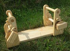 Ash card tablet weaving loom by chuckjones on Etsy