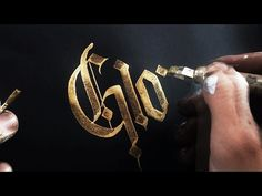 Best calligraphy compilation ! (SUPER SATISFYING) - YouTube