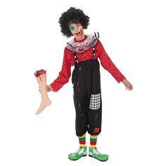 Disfraz Payaso Zombie Infantil