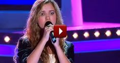 Rachael Leahcar on The Voice - Blind Girl Sings on the Voice - Music Video