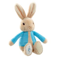 We're sure it will be a much-loved gift that baby will enjoy taking on their travels. Suitable from birth. Approx. 17cm tall.  Part of our Rainbow Designs Peter Rabbit range.
