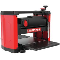 CRAFTSMAN W Benchtop Planer at Lowe's. This CRAFTSMAN bench planer has a powerful motor that allows for superior stock removal as its RPM cutter head speed provides cuts per Surfboard Shapes, Wood Planer, Steel Cutter, Fire Pit Table, Old Pallets, Sub Brands, Electric Fireplace, High Carbon Steel, Woodworking Tools
