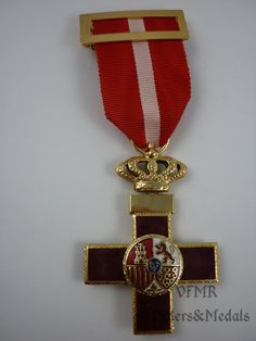 Spain - Order of Military Merit, Cross red (war actions) M2003