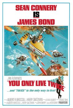 #5 YOU ONLY LIVE TWICE/1967 SEAN CONNERY bond girl: KARIN DOR