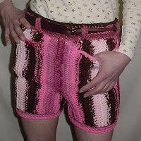 Crochet & shorts do not mix!