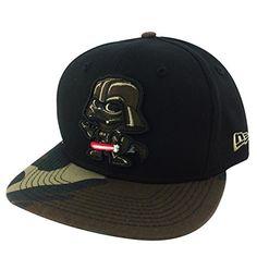 New Era Tokidoki X Darth Vader Star Wars Black Camo Visor Snapback Hat Cap New Era http://www.amazon.com/dp/B00S6XW4XO/ref=cm_sw_r_pi_dp_83x9ub1JMC22Q