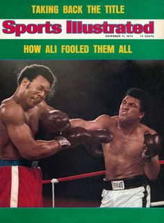 "On October 30, 1974, 32-year-old Muhammad Ali becomes the heavyweight champion of the world for the second time when he knocks out 25-year-old champ George Foreman in the eighth round of the ""Rumble in the Jungle,"" a match in Kinshasa, Zaire. Seven years before, Ali had lost his title when the government accused him of draft-dodging and the boxing commission took away his license. His victory in Zaire made him only the second dethroned champ in history to regain his belt."