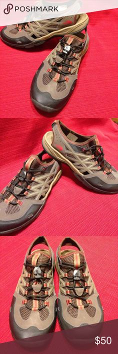 The North Face shoes The North Face  .  tan& black with orange non marking soles Shoes